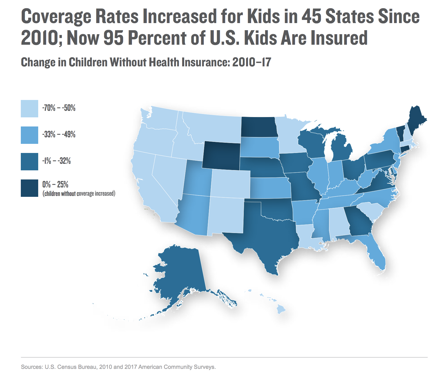 Us Map Without Wyoming Why Are So Many Wyoming Kids Without Health Insurance? | Wyoming
