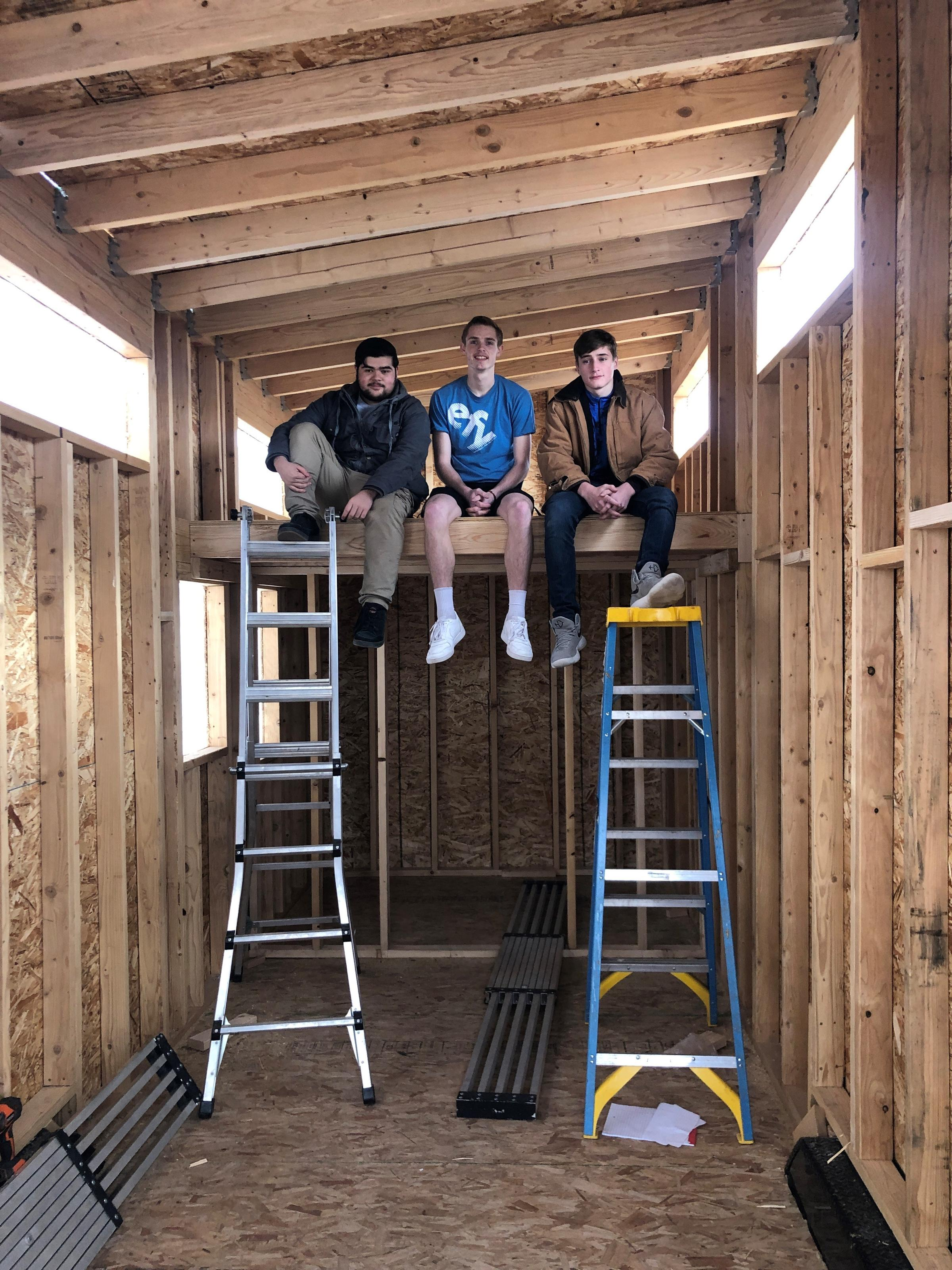 Tiny Houses Teaching Students How To Build A House From A To Z