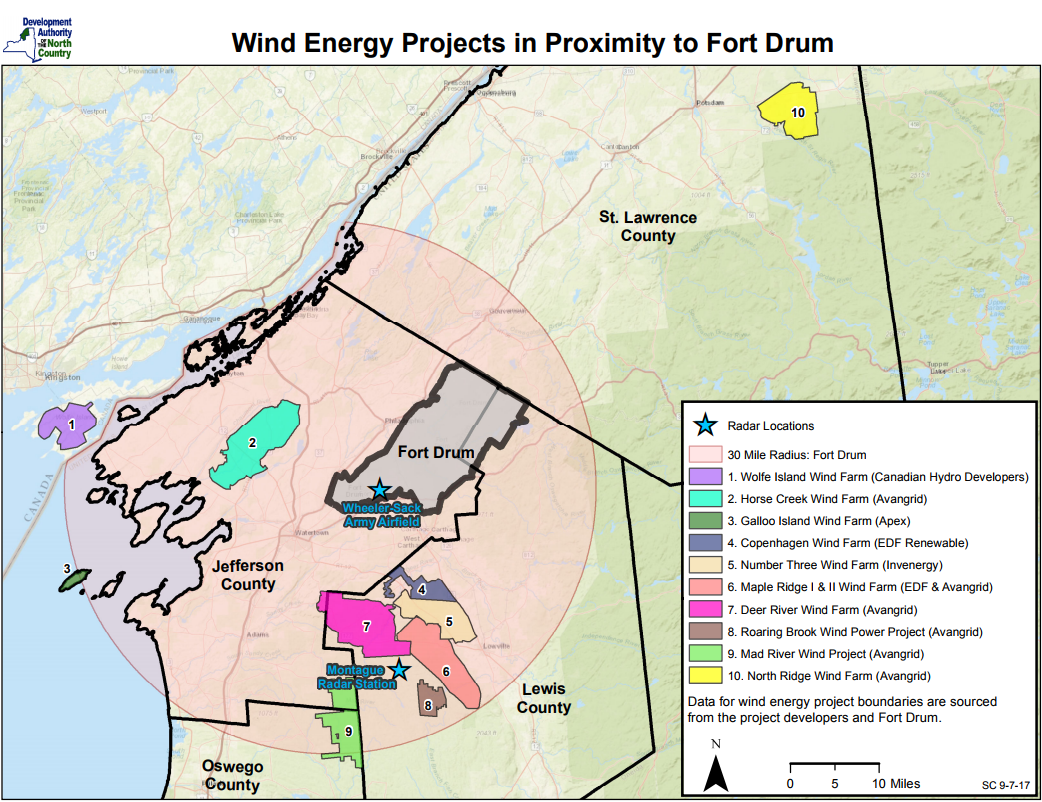 Watertown City Council votes to oppose wind farms near Fort
