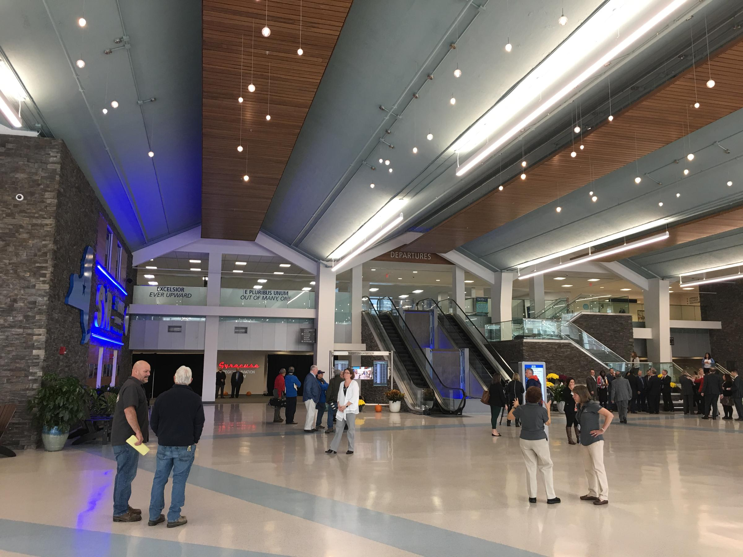$60 million renovation to Syracuse airport complete | WRVO Public Media