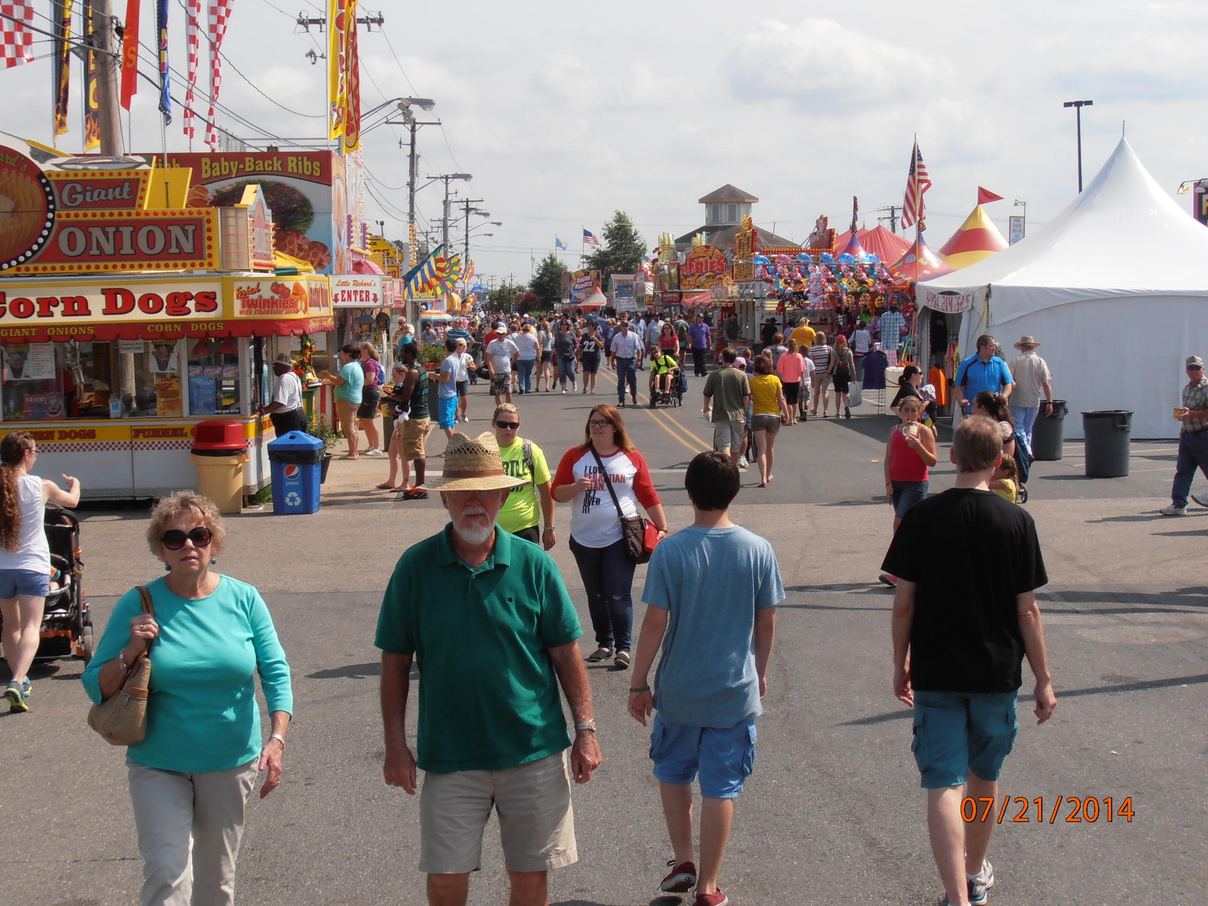 Delaware State Fair Opens With Musical Acts and Rides