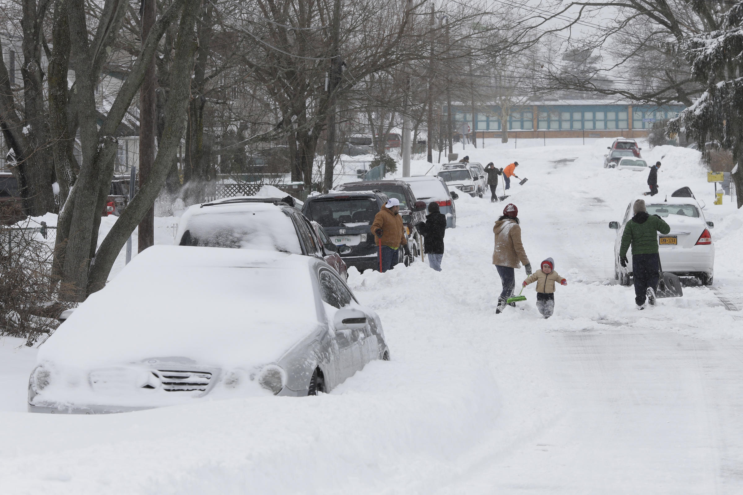 Winter Storm Brings Highest Snowfall In The Region To