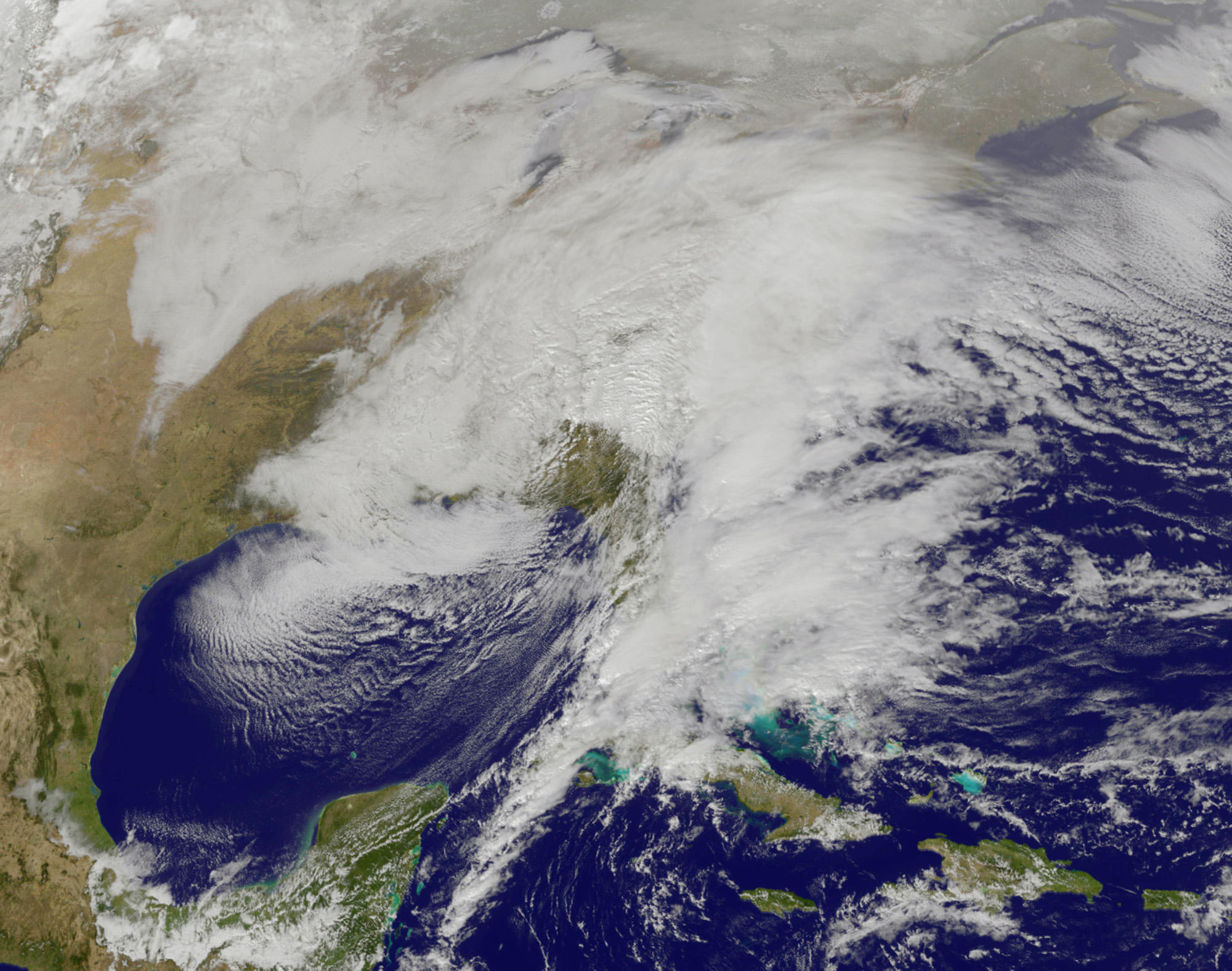 Winter Storm Brings Concerns About Storm Surge On Long