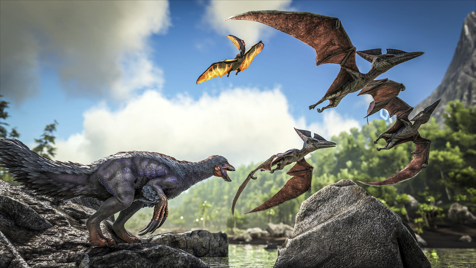 Music Respawn! Gareth Coker Has Fun With Dinosaurs In ARK: Survival