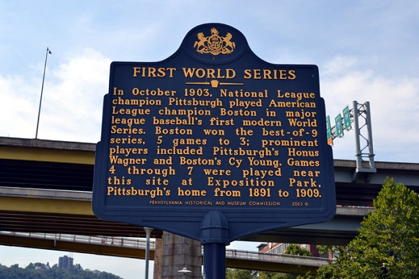 Image result for boston wins baseball's first world series