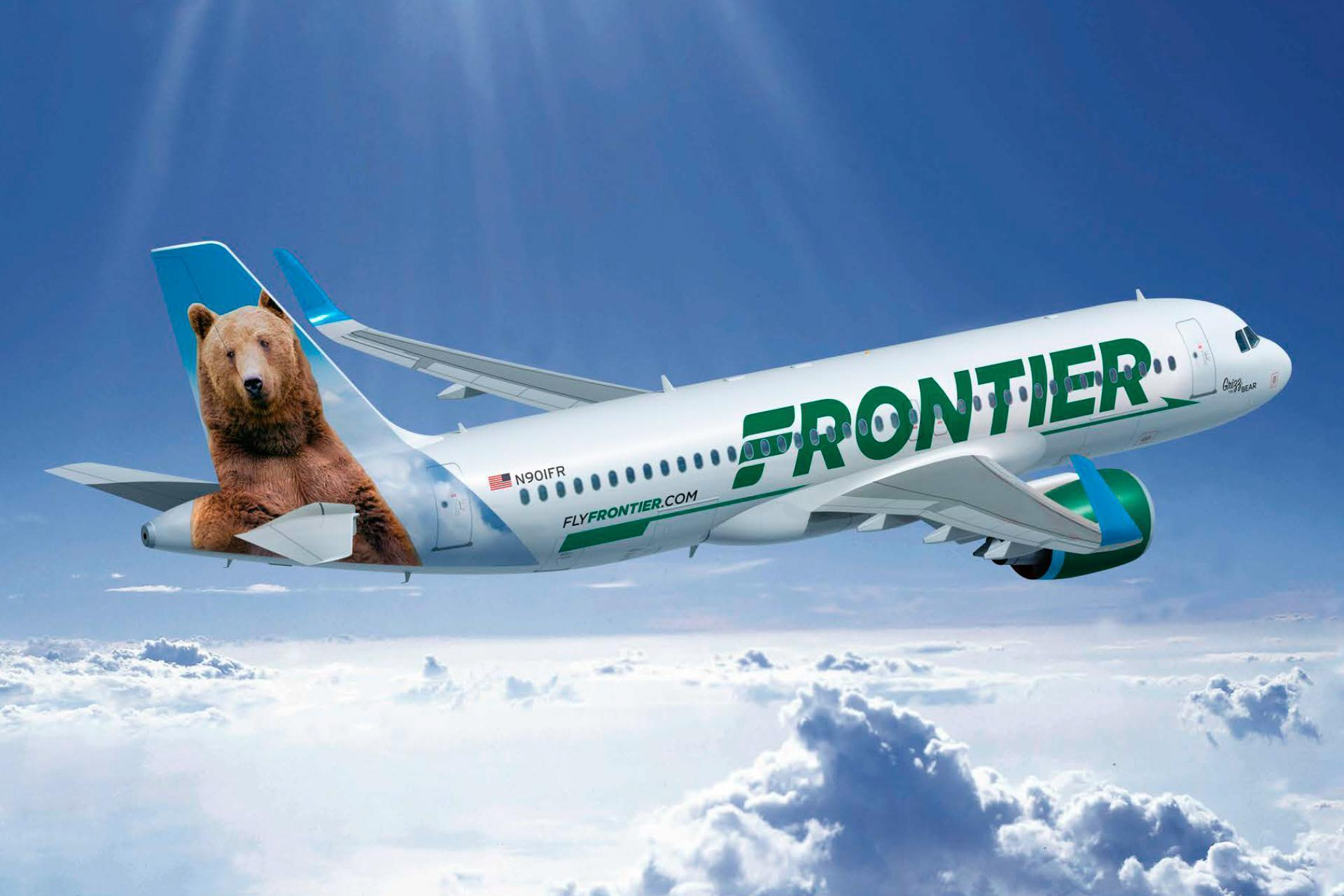Image result for frontier airlines photos