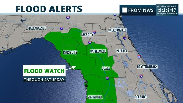More Rain, More Possible Flooding in Parts of Florida