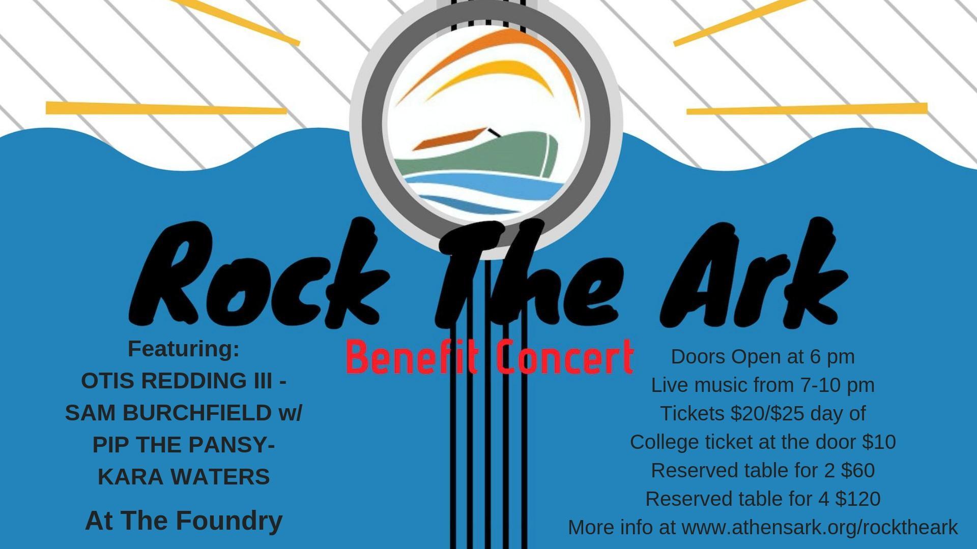 Rock the Ark Benefit Concert Thursday Night | WUGA | University of