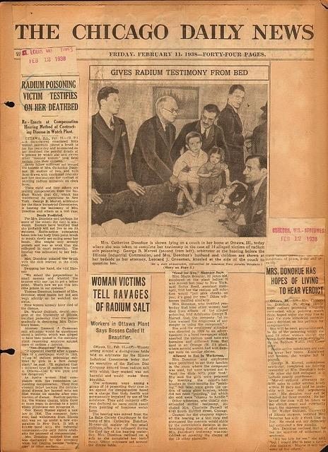 The Radium Girls An Illinois Tragedy Npr Illinois