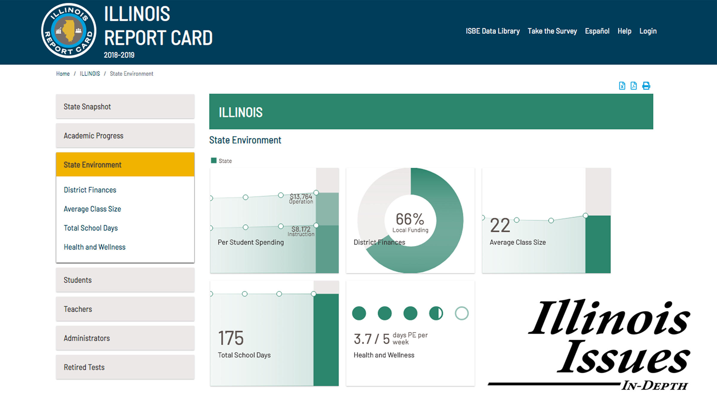 illinois school report card 2019  IL School Report Card: Now With Even More Data | NPR Illinois
