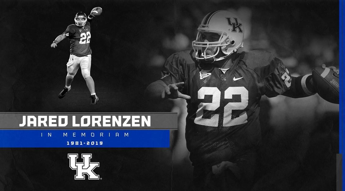 Services announced for former Kentucky quarterback Jared Lorenzen