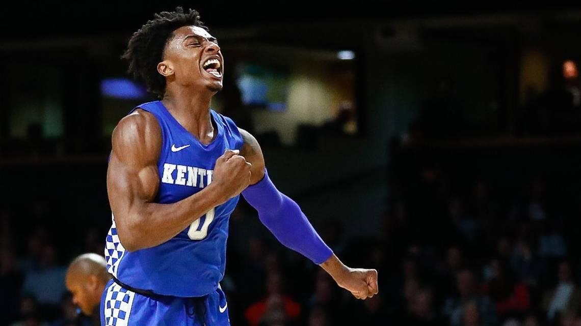 No. 12 Kentucky rallies from 14 down, beats Vanderbilt 78-64