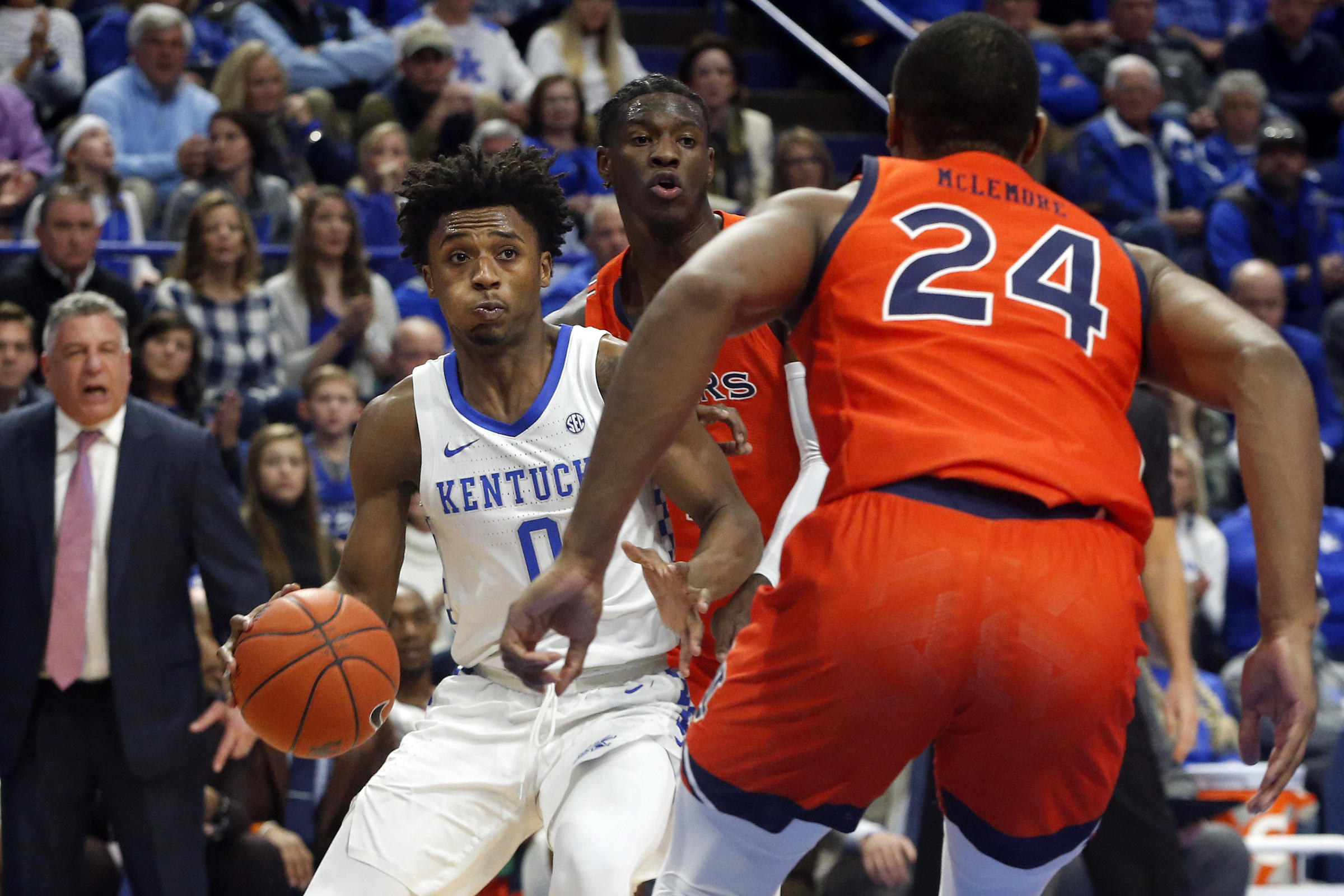 Kentucky freshman Tyrese Maxey declares for National Basketball Association draft