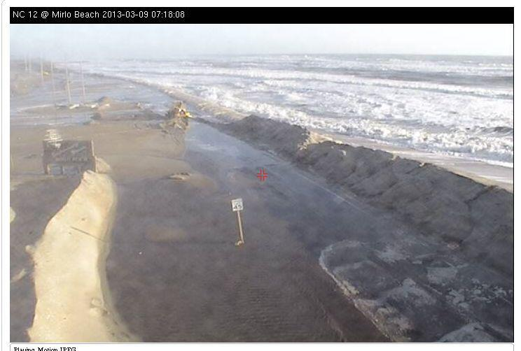 Problematic Section Of Nc 12 Will Have Beach Widened