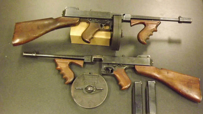 NC County Will Trade Vintage Bonnie And Clyde Style Machine Guns For