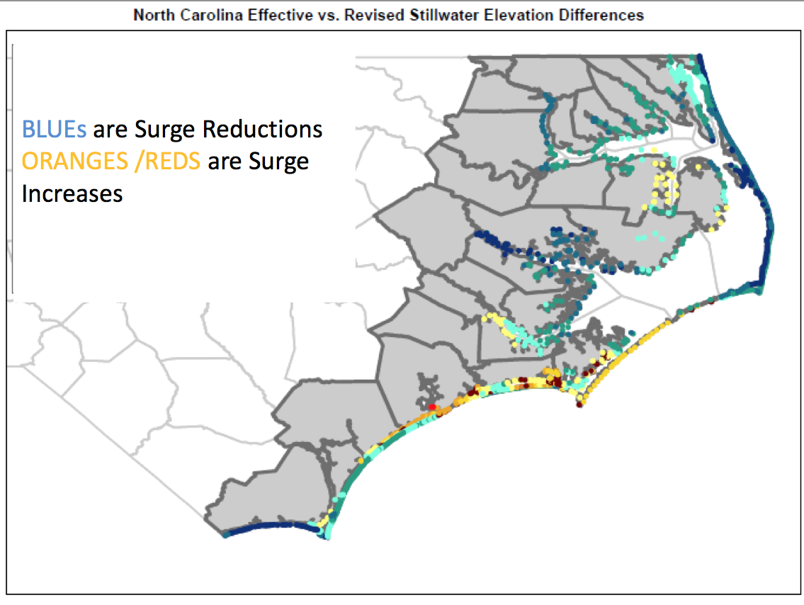 Have We Been Overestimating Flood Risk On The Outer Banks? | WUNC