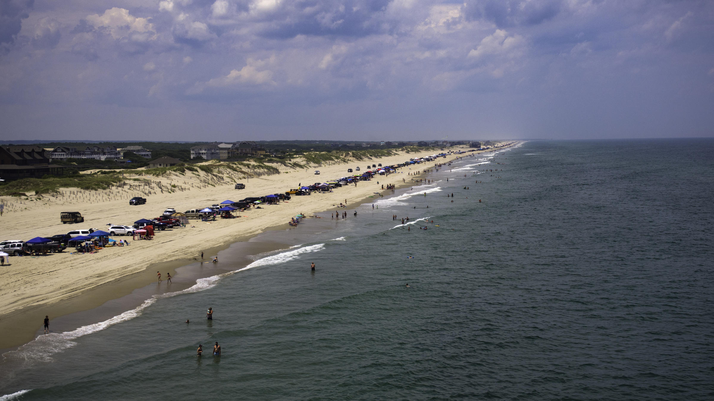 A View Of Corolla Beach On North Carolina S Outer Banks Controlling Drone Is Almost Like Dance To Me Said Photographer Thomas Wheeler