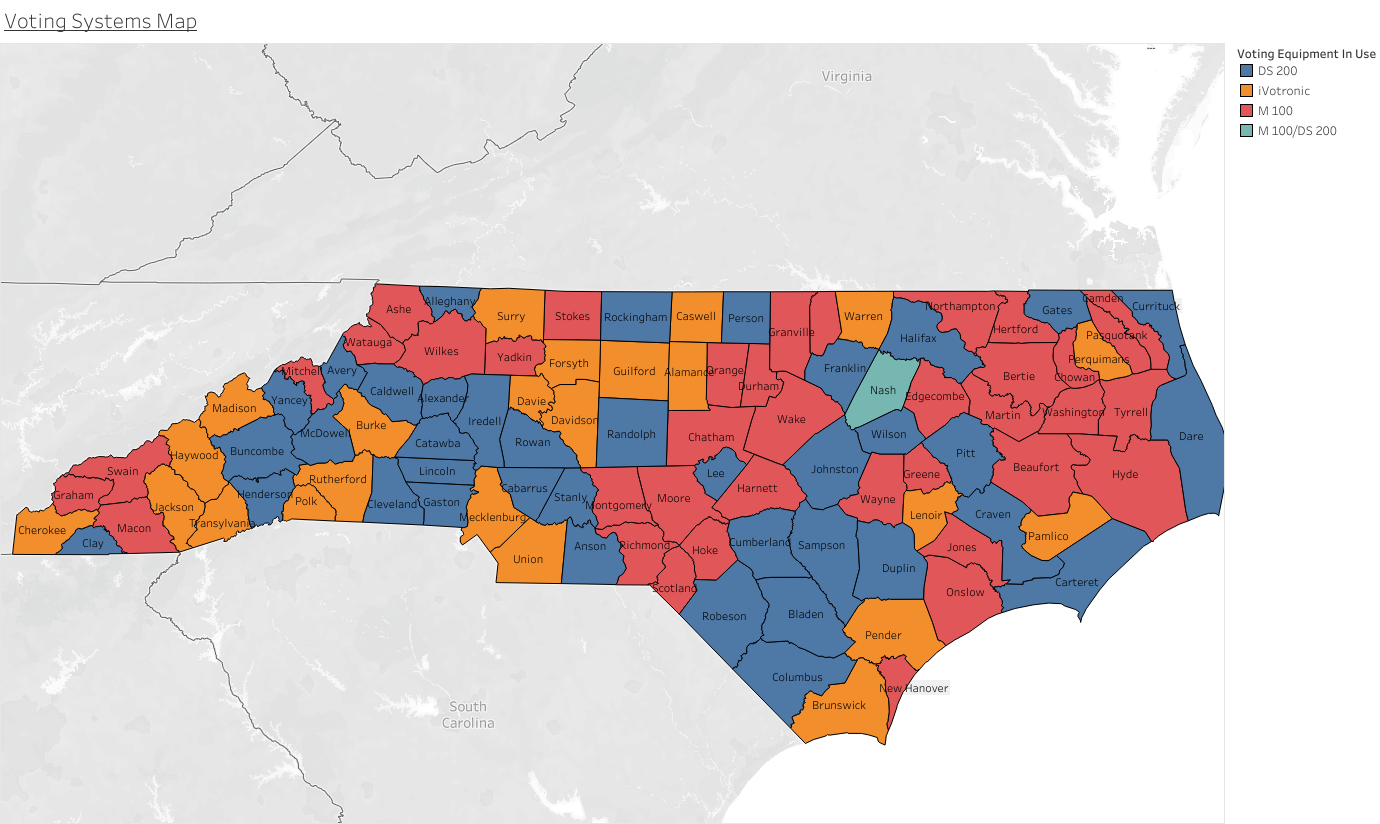 NC Counties Face Tight Timeline To Comply With State Voting