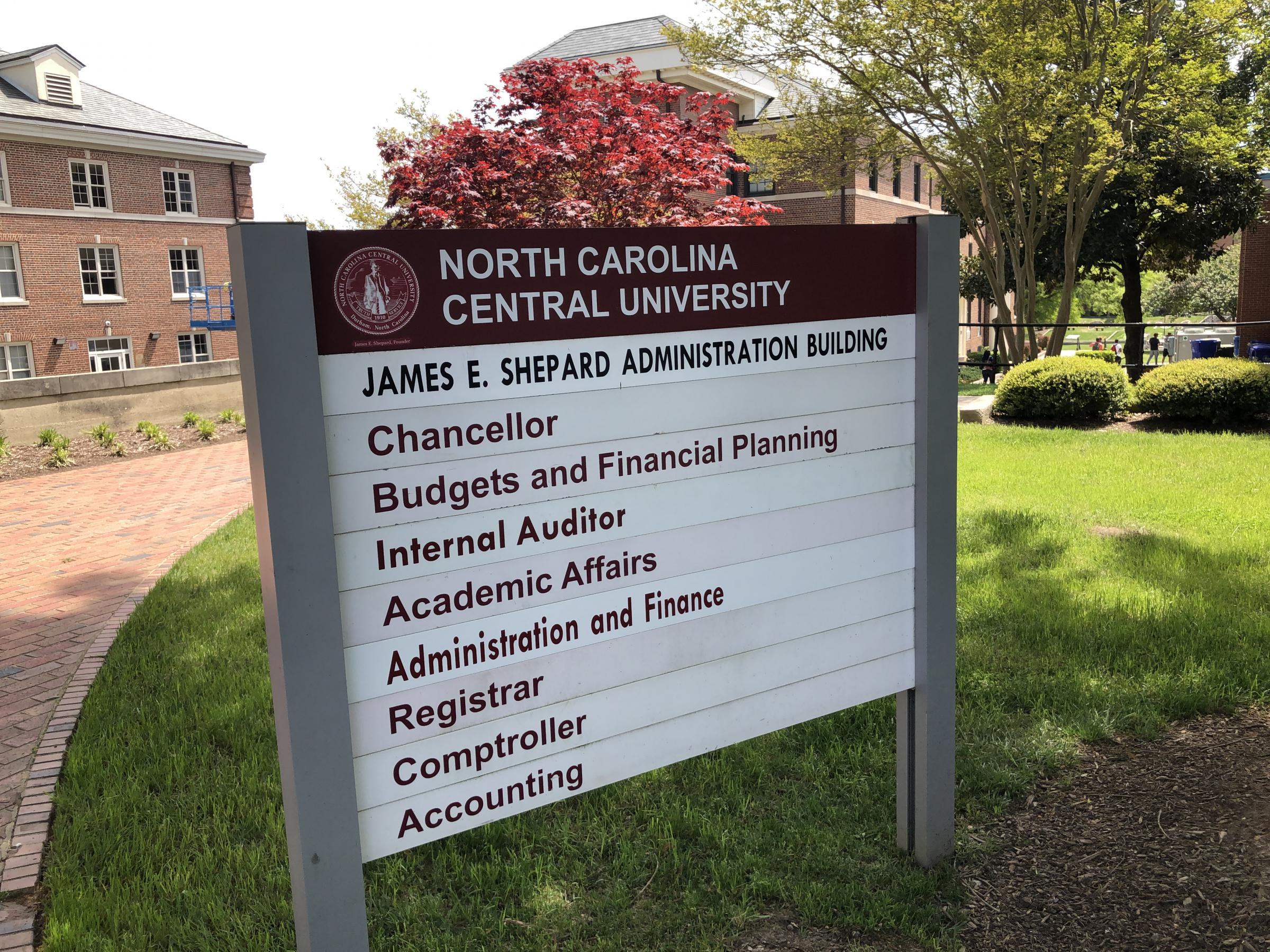 North Carolina Central University >> Nccu Removes Name Of Segregationist From Building Wunc