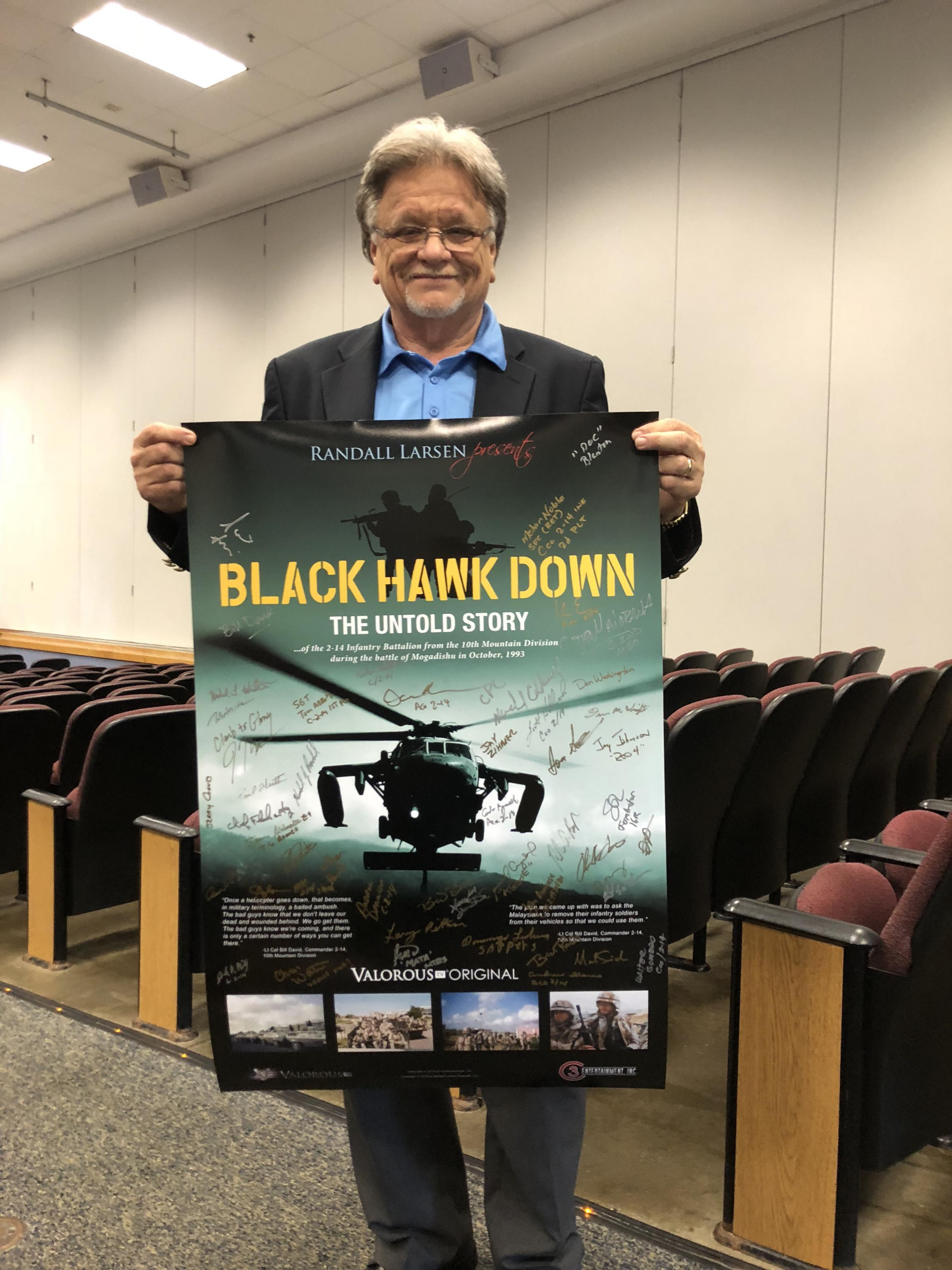 In A New Movie About 'Black Hawk Down,' Troops Tell The