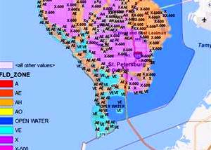 Pinellas County Flood Map Realtor Blames Flood Insurance Rates for Drop in Pinellas Home  Pinellas County Flood Map