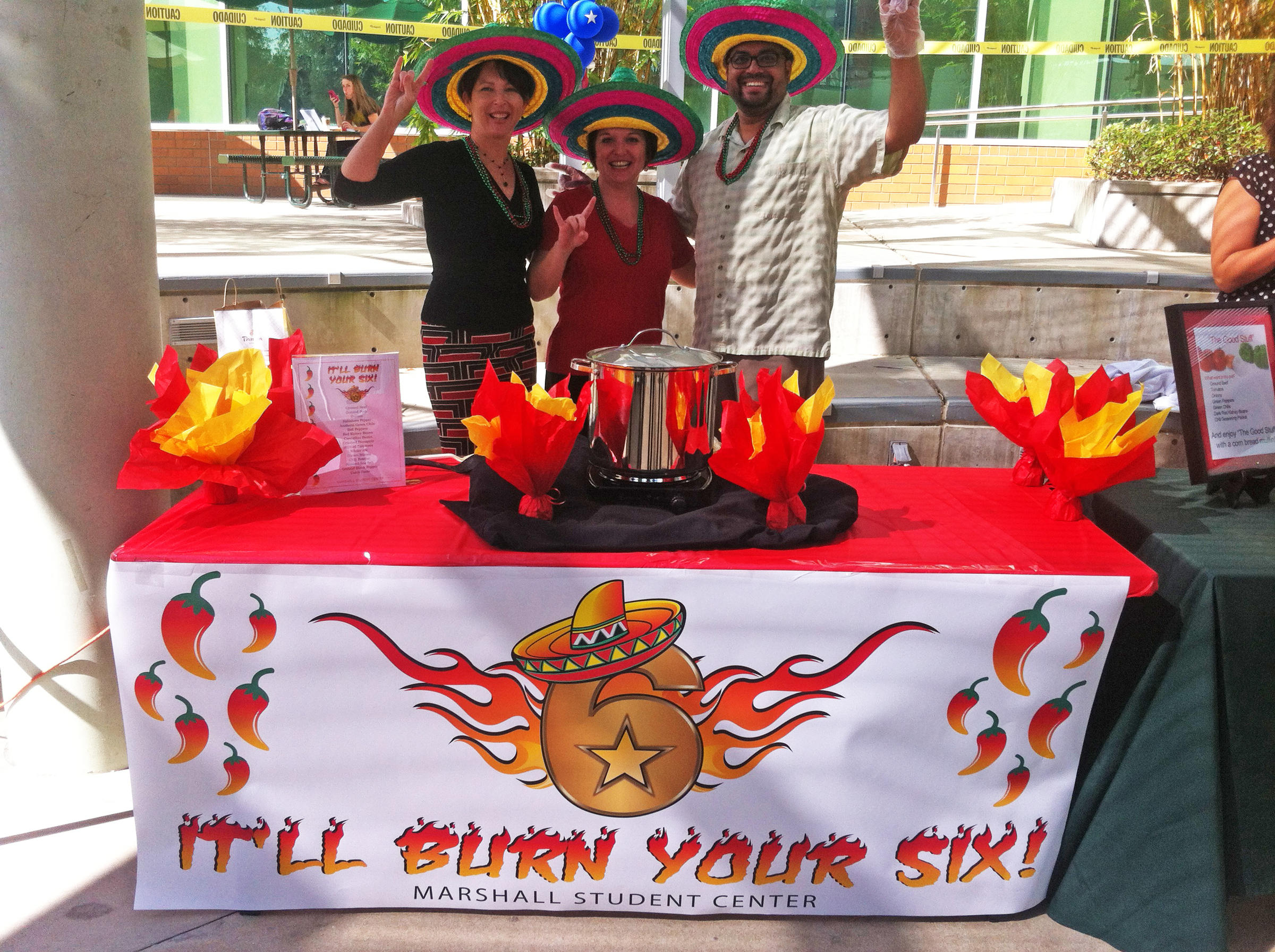 Naming Your Chili Is Half The Fun Of Paring In Annual Cook Off Sponsored By Usf Office Veterans Affairs
