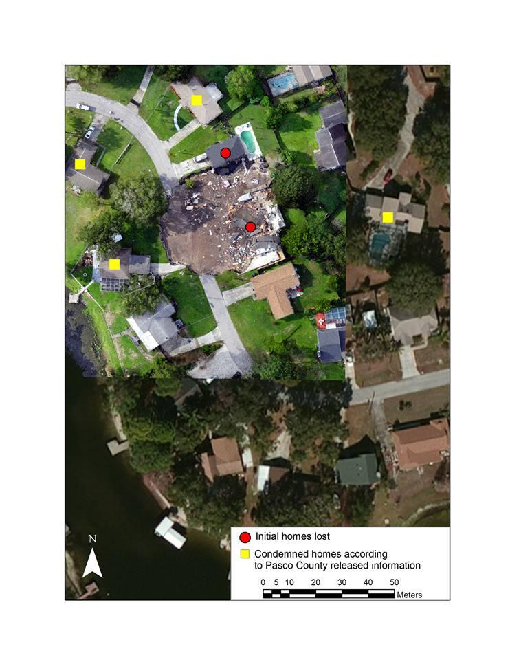 7 Pasco Homes Now Condemned Due To Sinkhole | WUSF News