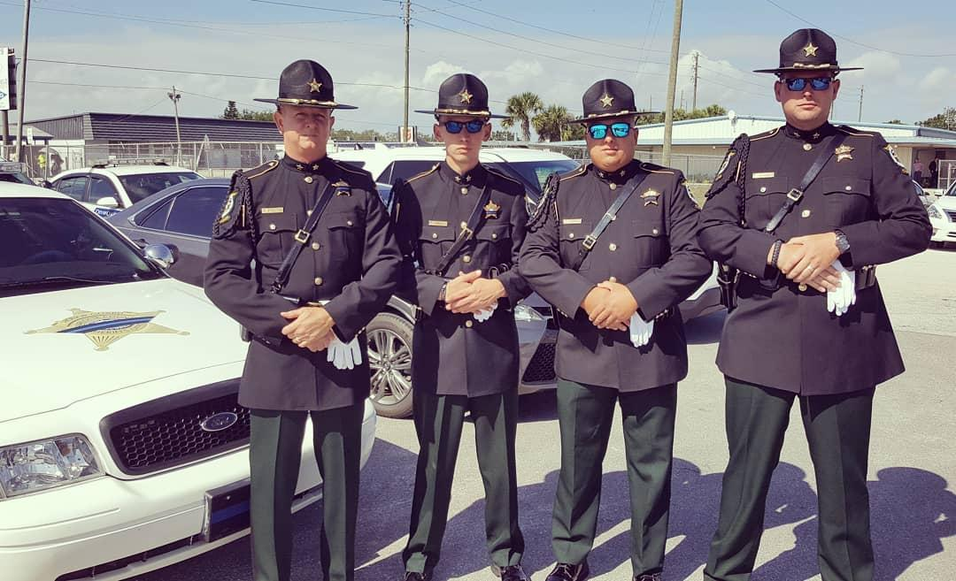 Funeral Service For Fallen Highlands County Sheriff's Deputy