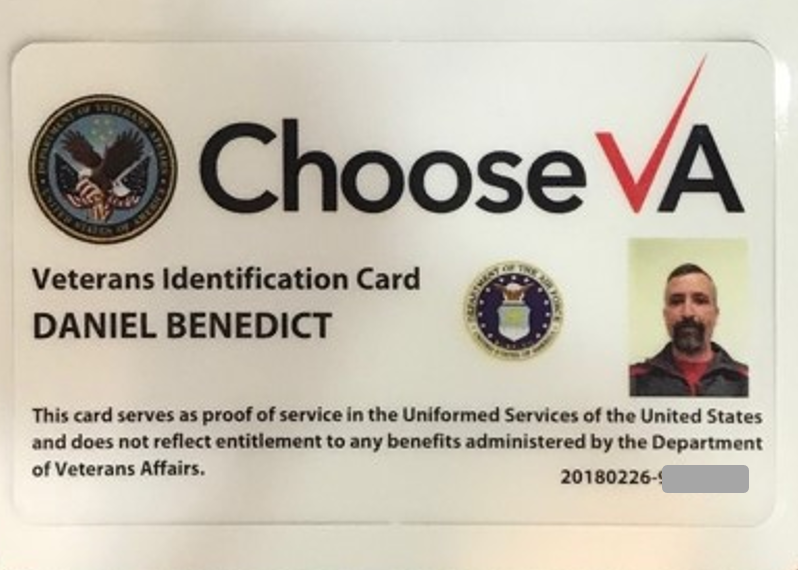 va issues longawaited veteran id cards but with an ad on