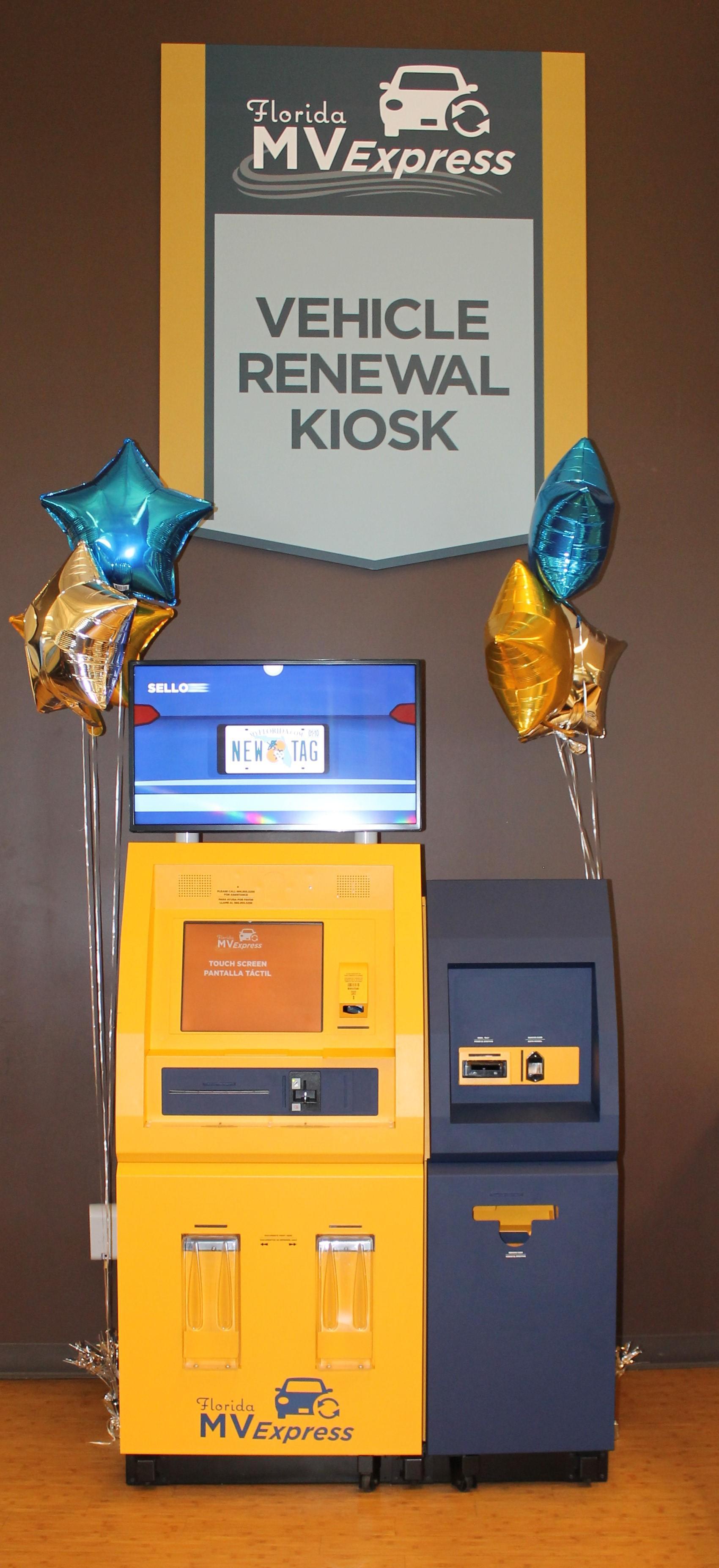 Florida Dmv Registration Renewal >> Florida S First Dmv Self Service Kiosks Installed In Hillsborough