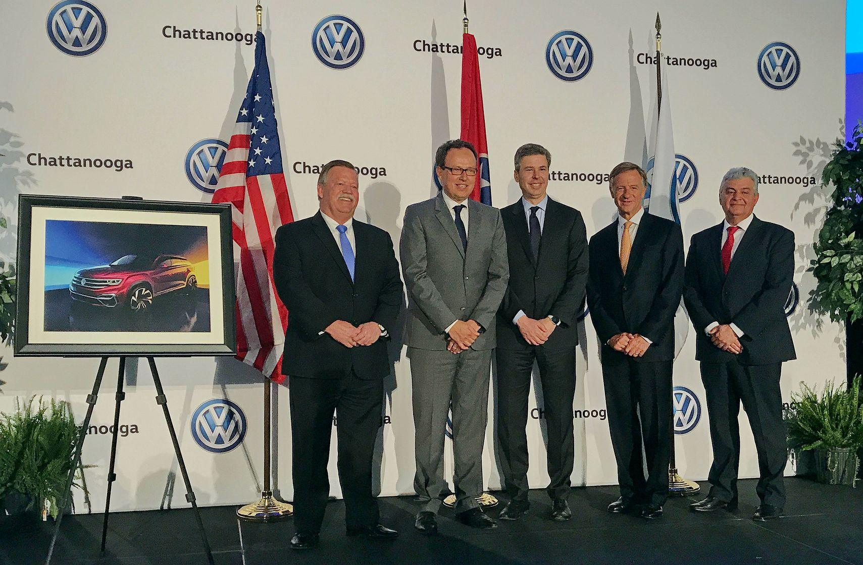 For Volkswagen CEO, Chattanooga-Made Atlas SUV Symbolizes a