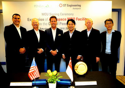 Pensacola, ST Engineering Sign Expansion Agreement | WUWF