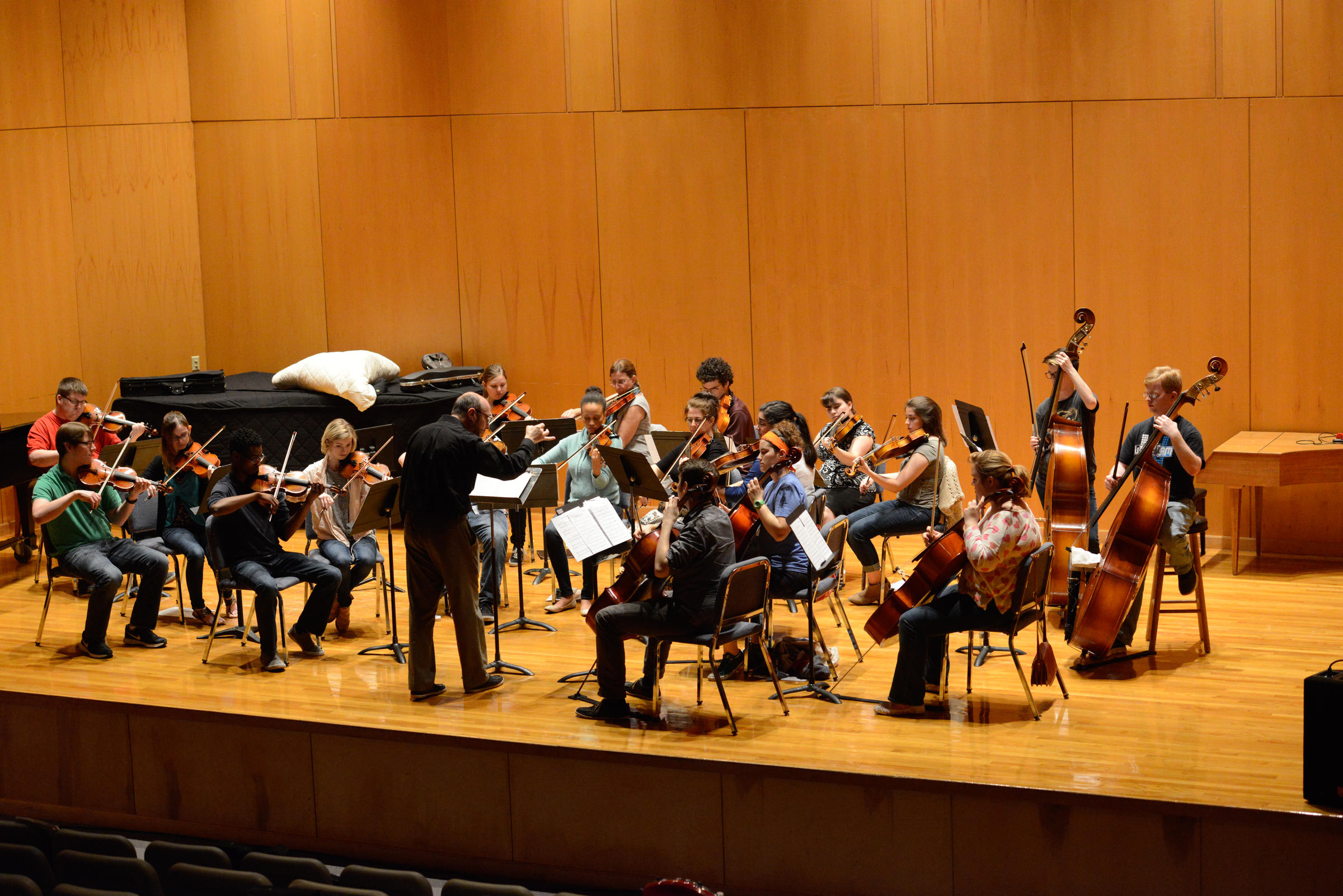 Runge Strings Orchestra Concert Offers Mix Of Traditional And Modern