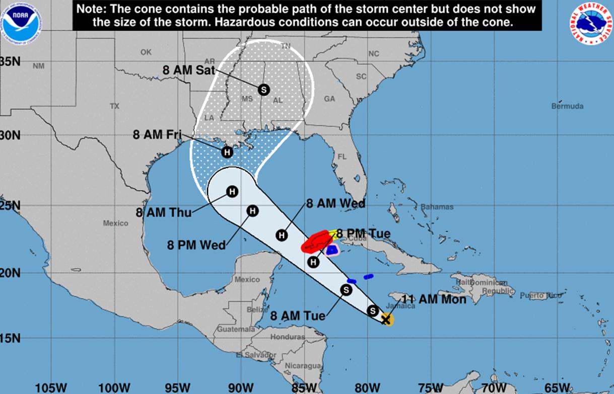 "Hurricane Delta strengthens to major Category 4 Hurricane"""