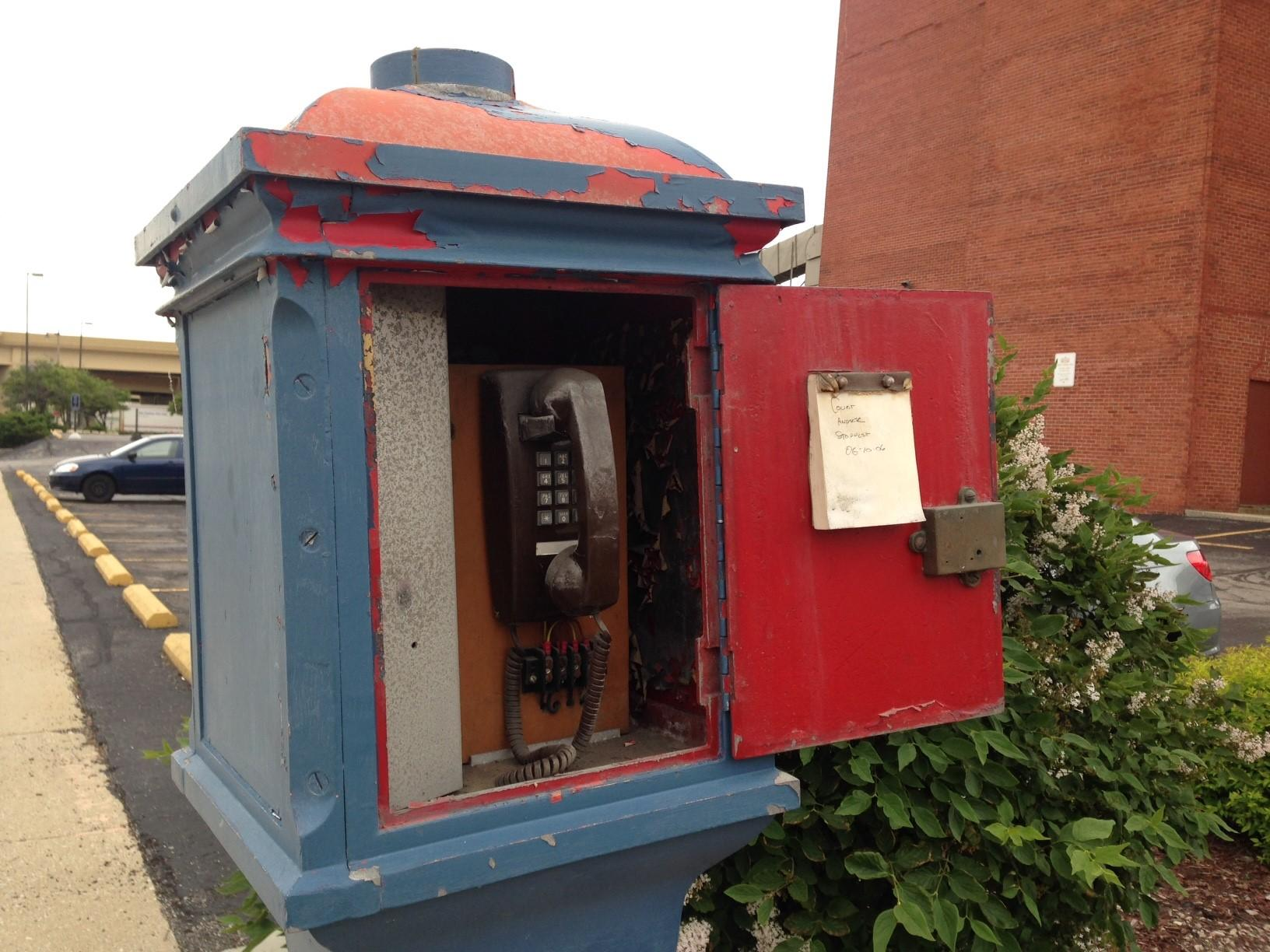 What's The Story With Milwaukee's Police Call Boxes? | WUWM