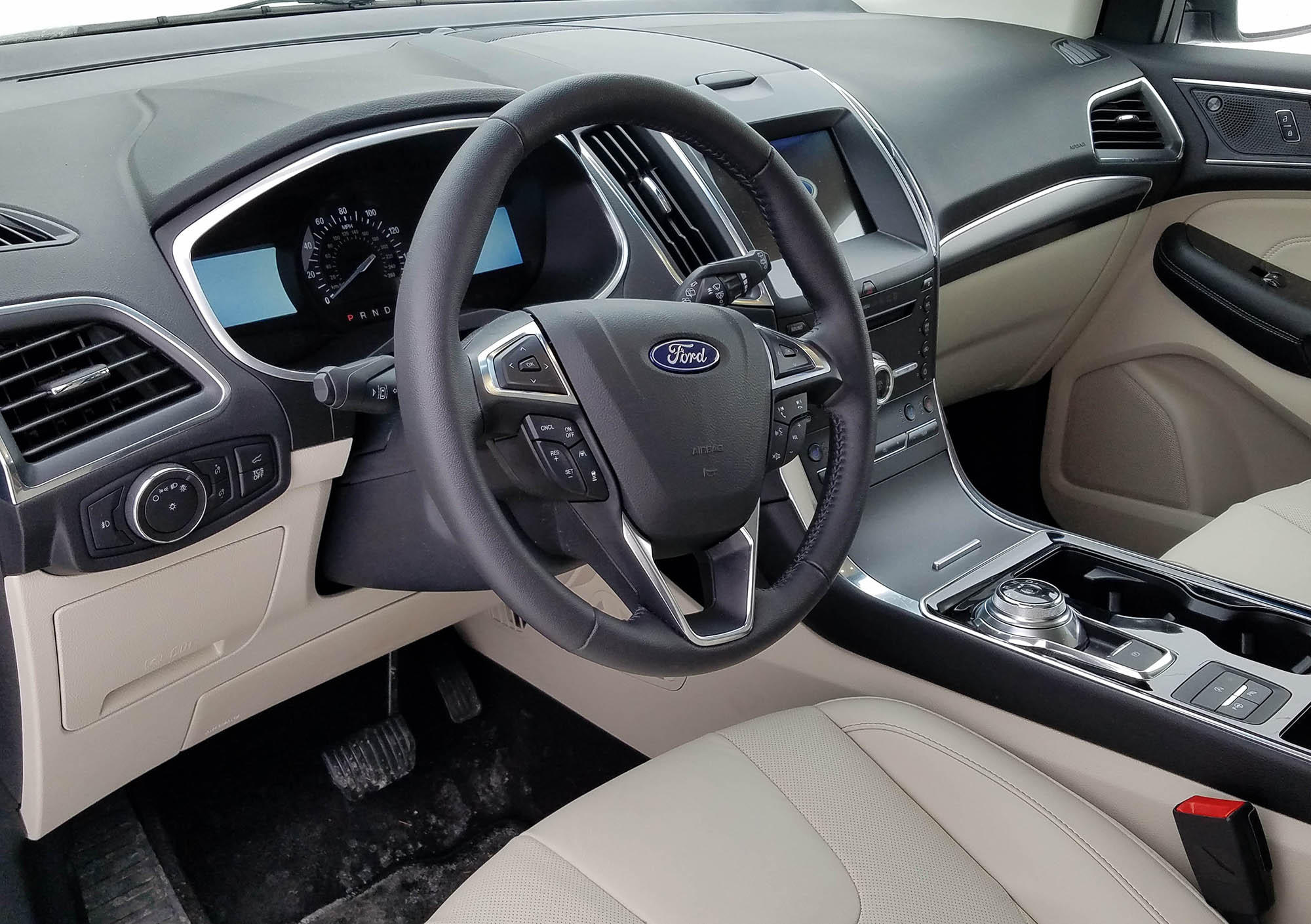 2019 Ford Edge Titanium Awd Review Turbo New Transmission Provide Zip Wuwm