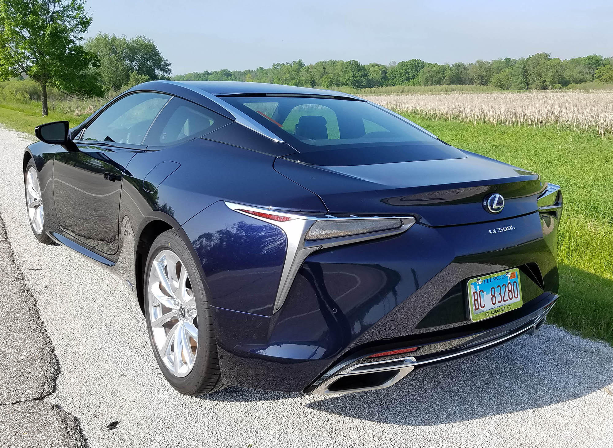 2019 Lexus LC 500h Review | WUWM