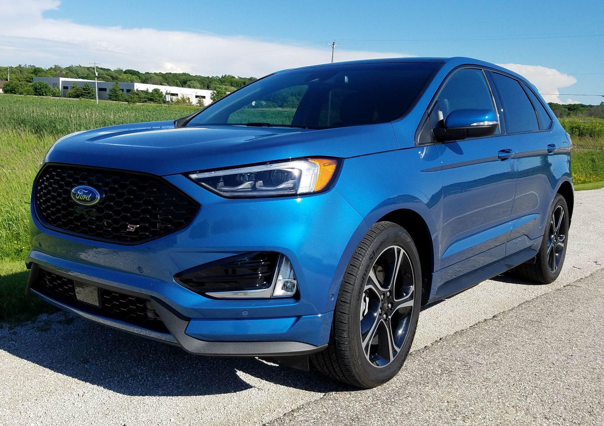 2019 Ford Edge ST AWD Review   WUWM
