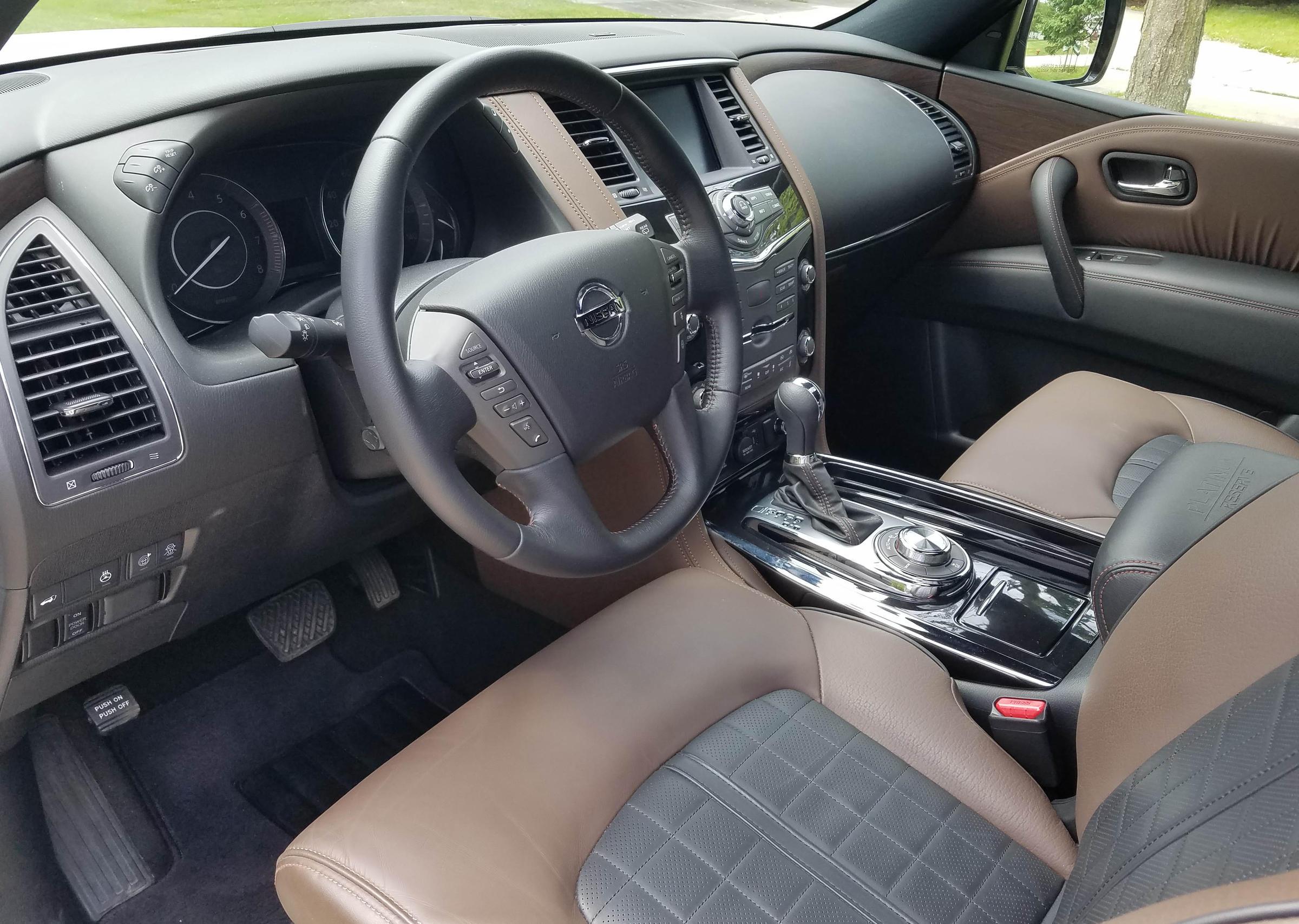 2020 Nissan Armada Platinum 4wd Review Wuwm