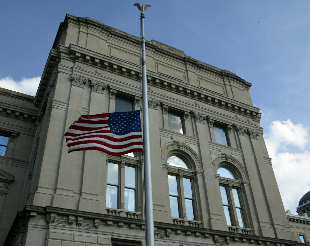 Flags to be flown half staff for victims of Indianapolis