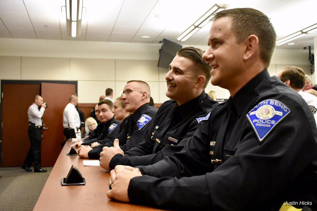 SBPD Swears In New Officers In The Wake of Eric Logan's
