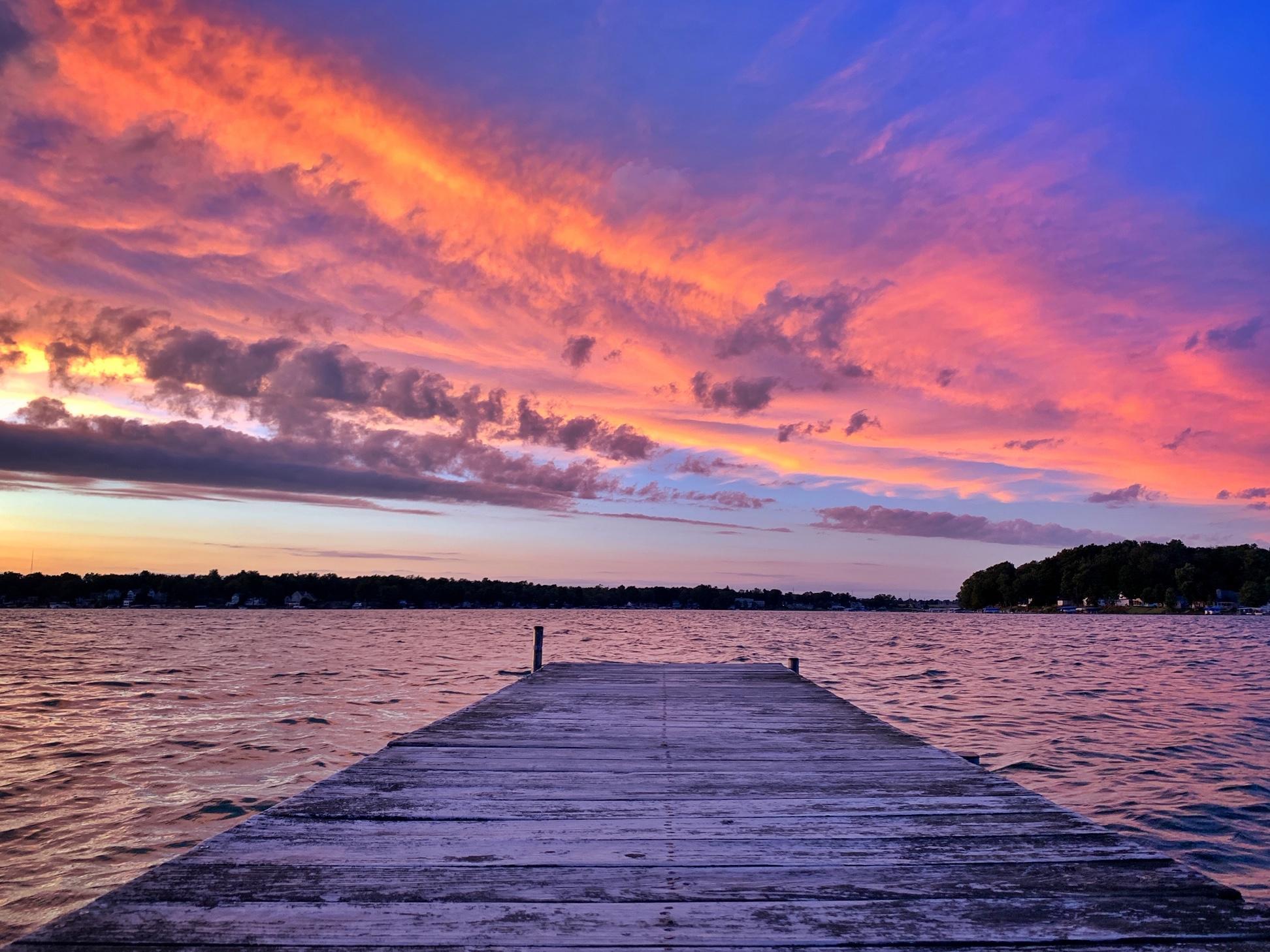 Photo Of The Week - Diamond Lake Sunset | WVPE
