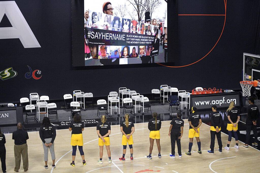 WNBA Players Advocate For Social Justice