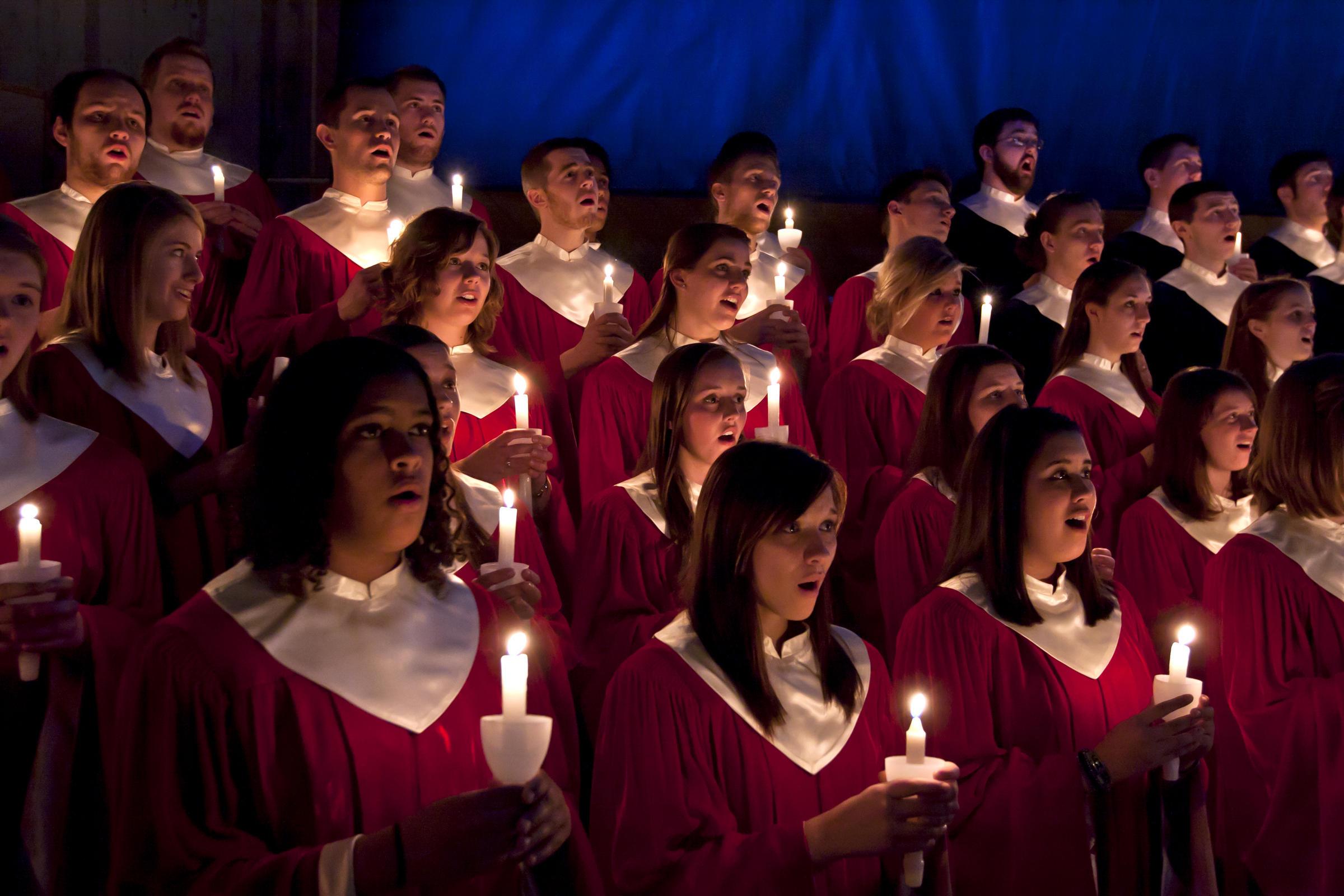 Christmas Choir.Christmas Choirs Abound West Virginia Public Broadcasting