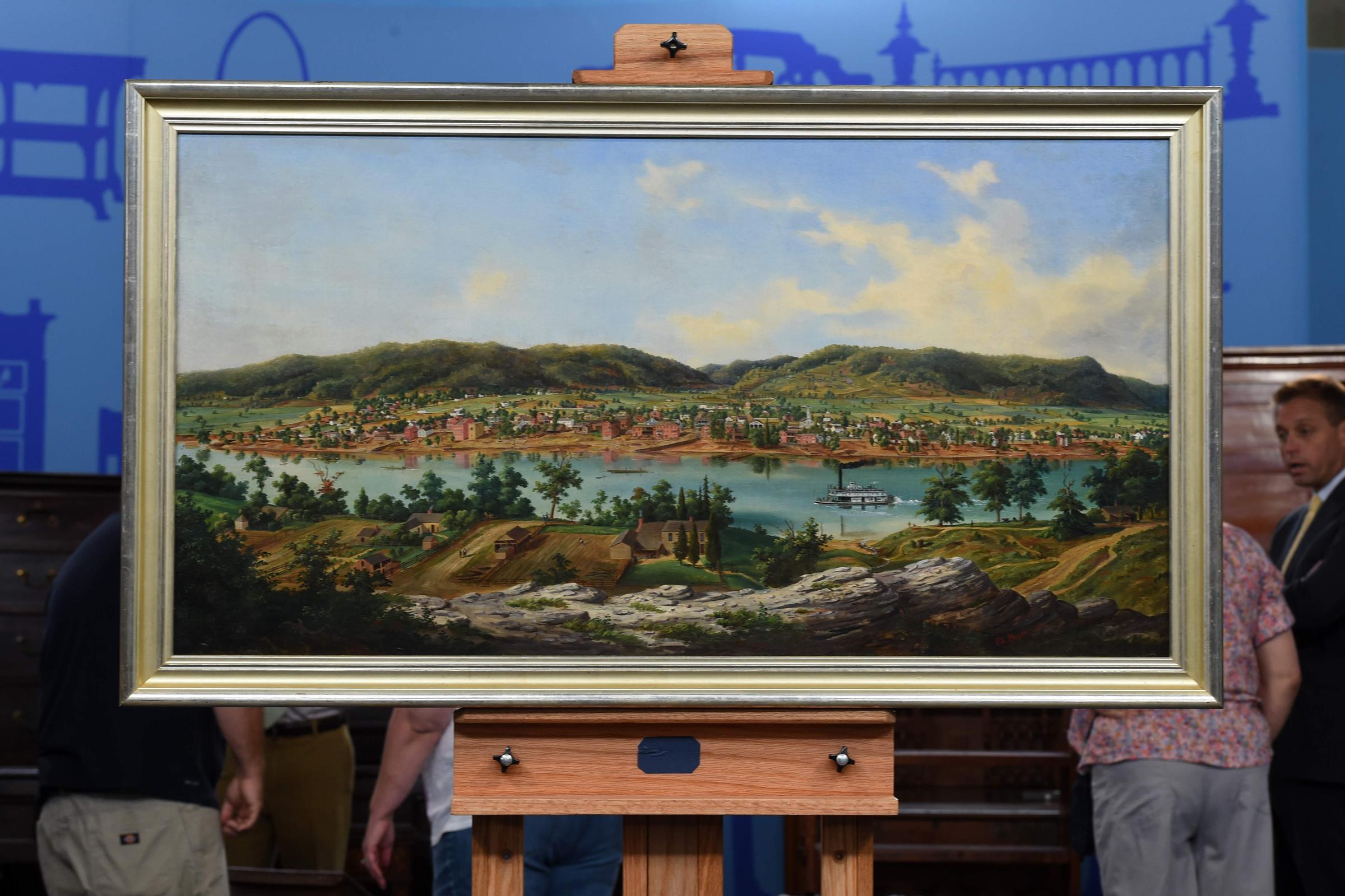 This Original Edward Beyer Landscape Painting Of Charleston Valued At 250 000 Antiques Roadshow