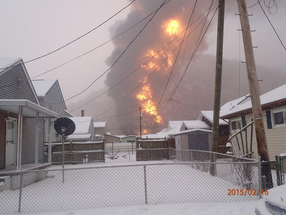 Hundreds displaced by oil tanker derailment - West