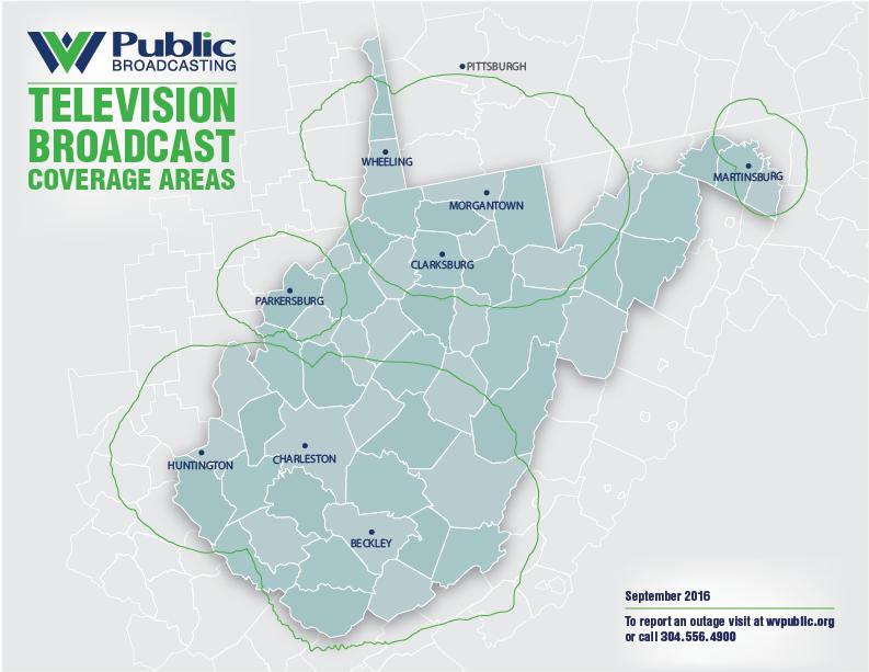 Find WVPB Television | West Virginia Public Broadcasting