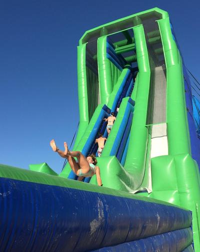 Sky Slide has Kids Dancing for Joy at Mountain Lake Lodge | WVTF