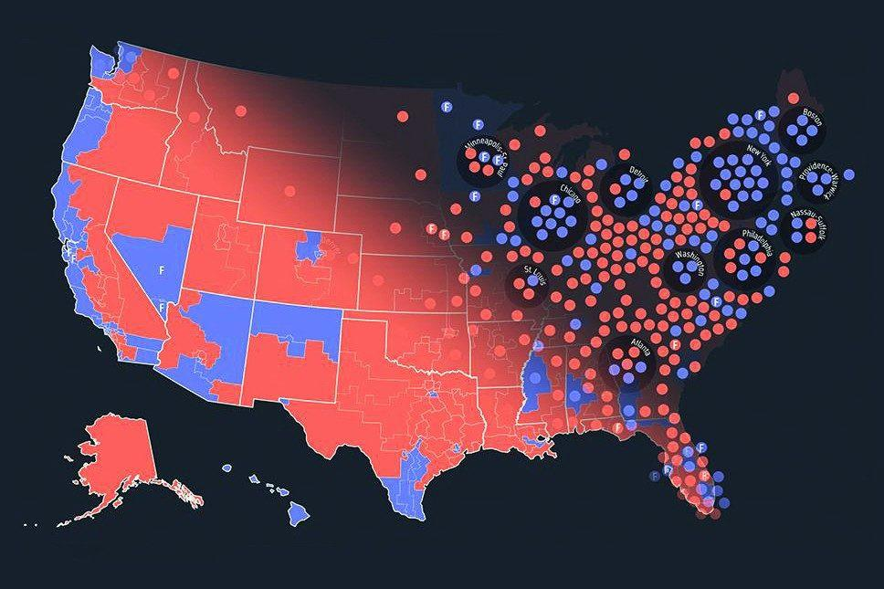 us map by congressional district See How Your U S Congressional District Has Changed Over Time Wvtf