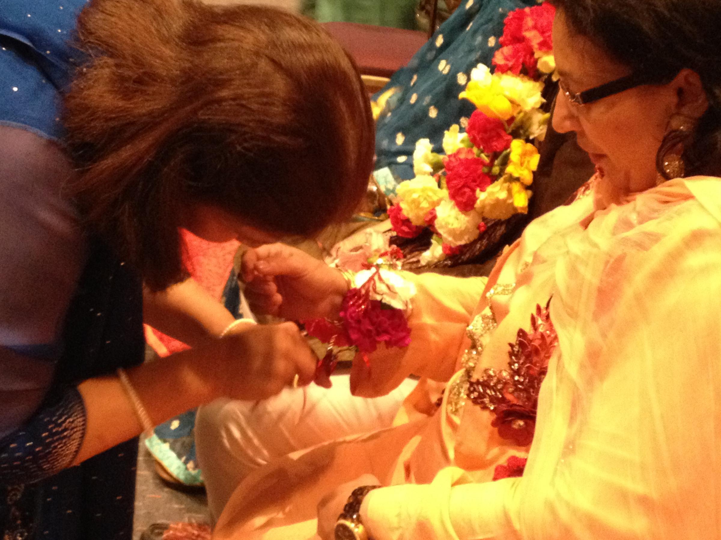 126ddb59d1 Peek inside a Pakistani pre-wedding ceremony   WVXU